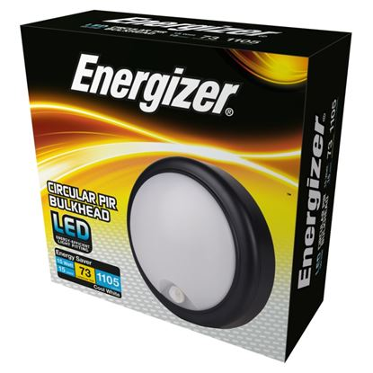 Picture of Energizer LED PIR Round Bulkhead IP54 15w 4000k