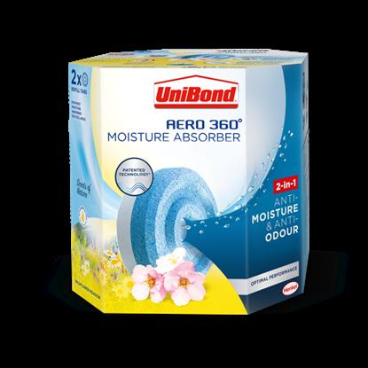 Picture of UniBond Aero 360 Moisture Absorber Refills Wildflower Meadow