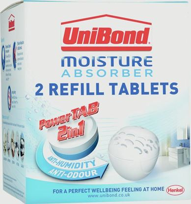 Picture of UniBond Moisture Absorber Refill 2 x 300g