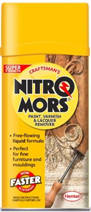 Picture of Nitromors Craftsmans Paint Varnish  Lacquer Remover 750ml