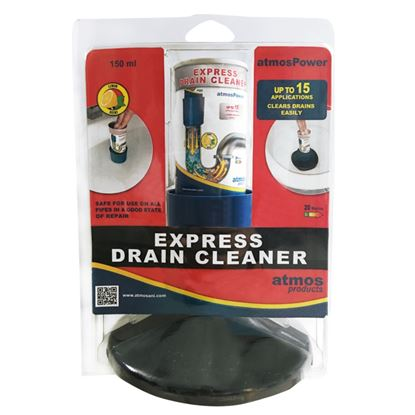 Picture of Atmos Express Drain Cleaner Kit 150ml