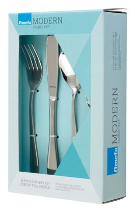 Picture of Amefa Modern Cutlery Box 24 Piece Sure