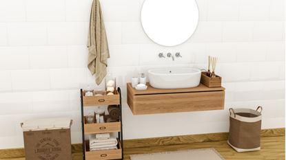 Picture of Golden Tile White Gloss Ceramic Wall Tile