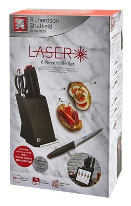 Picture of Amefa Laser Knife Block Set 6 Piece