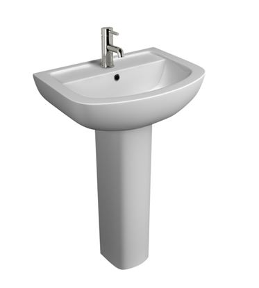 Picture of Kartell Studio 1 Tap Hole Basin 550mm