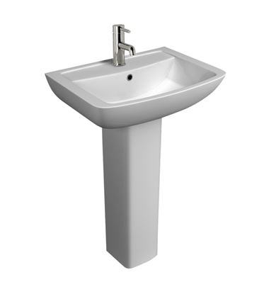 Picture of Kvit Pure 1 Tap Hole Basin 550mm