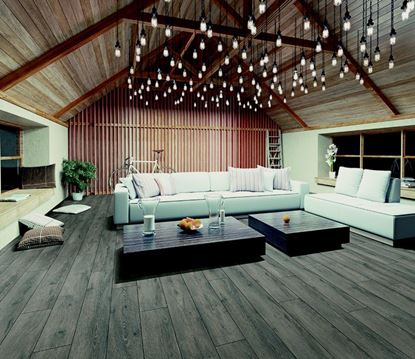 Picture of Kronoswiss Laminate Floor 2.131m2 Gauli Grey 1380mm x 193mm x 8mm