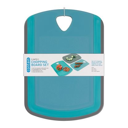 Picture of Chef Aid 3 In 1 Chopping Board Set