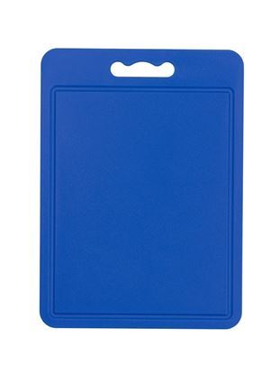 Picture of Chef Aid Poly Chopping Board 35 x 25cm Blue