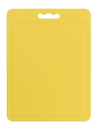 Picture of Chef Aid Poly Chopping Board 40 x 30cm Yellow