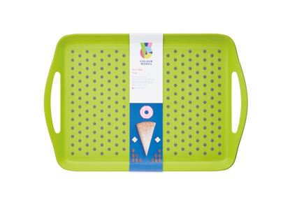 Picture of Colourworks Anti Slip Tray Green