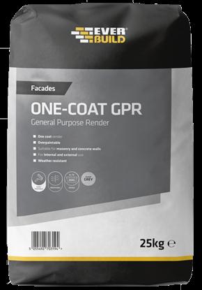 Picture of Everbuild Facades One Coat GPR Grey 25kg