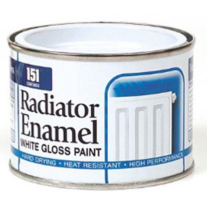 Picture of 151 Coatings Radiator Enamel 180ml White Gloss