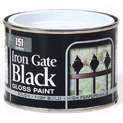 Picture of 151 Coatings Iron Gate Gloss Paint 180ml Black