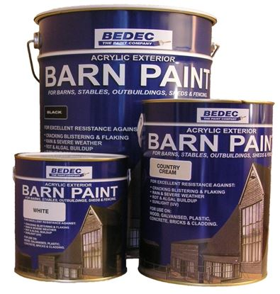 Picture of Bedec Barn Paint 20L French Grey