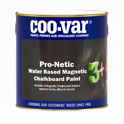 Picture of Coovar ProNetic Water Based Magnetic Chalk Board Paint 500ml