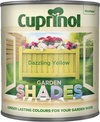 Picture of Cuprinol Garden Shades 1L Dazzling Yellow