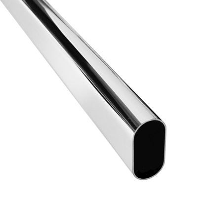 Picture of Securit Chrome Oval Tube 30mm 8ft