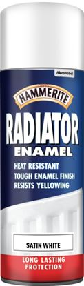 Picture of Hammerite Radiator Enamel 400ml Aerosol Satin White