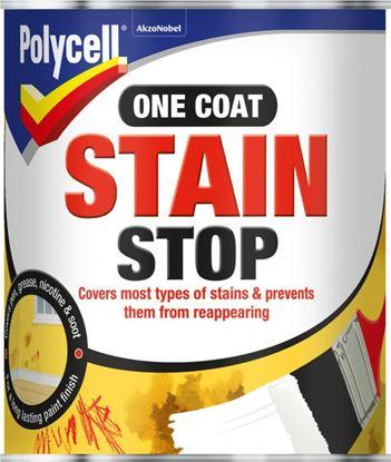 Picture of Polycell One Coat Satin Stop 1L
