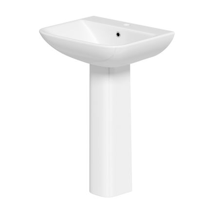 Picture of SP Space Saver Basin  Pedestal In A Box W 550mm H 855mm D 445mm