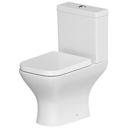 Picture of SP Space Saver Close Coupled Pan Cistern  Seat In A Box W 365mm H 780mm D 610mm
