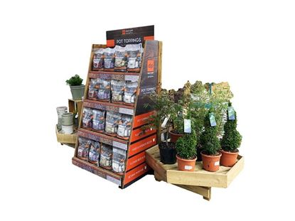Picture of Deco-Pak Pot Topper Display Unit 100 Mixed Bags