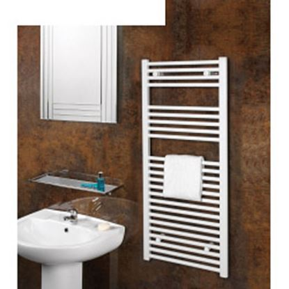 Picture of SupaPlumb White Straight Towel Rail 500 X 1200mm