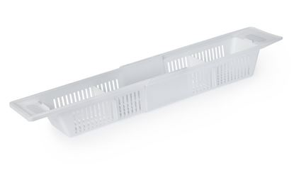 Picture of Blue Canyon Extendable Over Bath Rack White